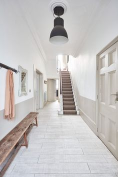 This beautifully designed location house offers great flexibility for shooting.This location house allows painting and decorating Interior Stylist, Home Interior Design, London House, South London, Under Stairs, Simple Colors, Love Home, Big Houses, Victorian Homes