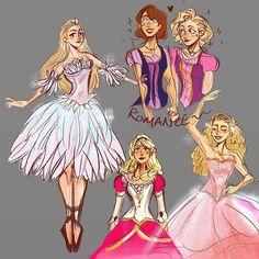 Character Inspiration, Character Art, Character Design, Disney Memes, Disney Cartoons, Barbie Drawing, Barbie Movies, Cute Art Styles, Barbie Princess