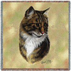 Lap Square Blanket - Brown Tabby Cat by Robert May 1949 for Like the Lap Square Blanket - Brown Tabby Cat by Robert May Get it at Portrait Art, Pet Portraits, Kittens Cutest, Cats And Kittens, Tabby Cats, Cat Merchandise, Cat Throw, Cat Cushion, Pillow Sale