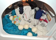 Woolzies Dryer Balls- Natural Laundry Softener (Review)