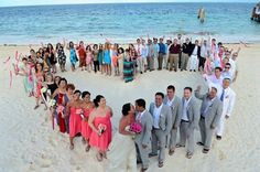 Destination Beach Wedding Photo idea!