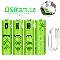 Rechargeable Battery Charger, Usb, Voss Bottle, Water Bottle, Best Smartphone, Battery Sizes, Computer, Red Bull