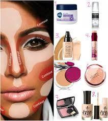 Resultado de imagem para guia de aplicação de maquiagem