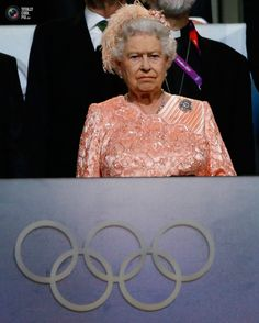 31 Britain's Queen Elizabeth attends the opening ceremony of the London 2012 Olympic Games . KAI PFAFFENBACH/REUTERS