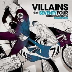 Seventy Four  - from the Riders and Villains series by Gianmarco Magnani
