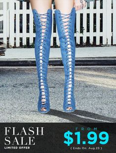 Flash Sale #heels #booties #kneehighboots