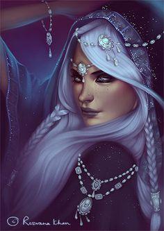 :The_Ice_Queen: by RezKhanDimech.deviantart.com on @deviantART