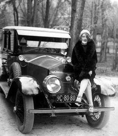 Fairly new Rolls~Royce in 1926