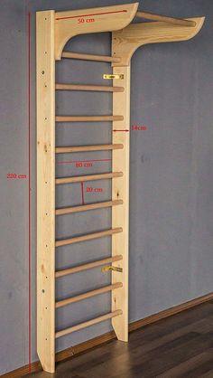 homemade stall bars a basement project  no equipment