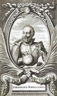 Ferdinand Magellan. First around the globe in 1519 - or at least his ship made it round, and 18 of his crew of 260. Magellan himself died halfway round.