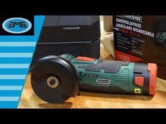 211 parkside pfbs 160 b2 unboxing precision multi for Smerigliatrice a batteria parkside