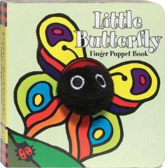 Little Butterfly Finger Puppet Boo