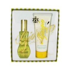 GIORGIO by BEVERLY HILLS Perfume + Lotion Gift Set by Giorgio Beverly Hills. $33.58. NEW IN RETAIL BOX. MADE IN USA. BODY MOITURIZER, 6.8 OZ. EAU DE TOILETTE SPRAY, 3 OZ. FRAGRANCE GIFT SET FOR WOMEN. Set includes a 3.0 oz. (90 ML) eau de toilette spray, and a 6.7 oz. (200 ML) body lotion.Set comes brand new, in a retail gift set box.. Save 55%!