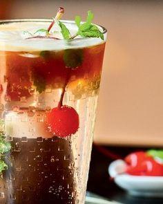 Nespresso Cherry Mojito (Foto: Ricardo Corrêa/Casa e Comida)