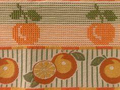 Mini, Cross Stitch Owl, Cross Stitch Rose, Straight Stitch, Embroidered Towels, Fruit, Manualidades