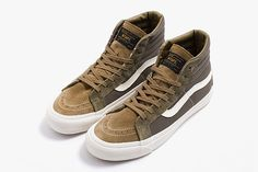 b8c368b1d5 The WTAPS x Vans Vault Sneaker Collection is Out Now