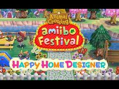 Animal Crossing Happy Home Designer | All amiibo ! - YouTube
