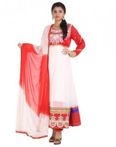 My Passion is Fasion #Salwars #White #Red  The moment you realize how important fashion is, FConnexions leads to right choice Shine with Fconnexions Salwar collection  #Shopping #Offers #Onlineshopping #Boutique #LadiesFashion