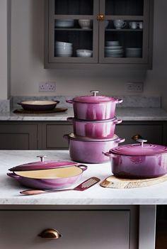 Big Kitchen Trends In 2016 - Interior Decor and Designing Purple Kitchen, Big Kitchen, Kitchen Items, Kitchen Gadgets, Kitchen Decor, Kitchen Appliances, Kitchens, Kitchen Tools, Home Decor Accessories