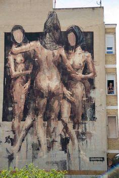 Borondo #streetart jd