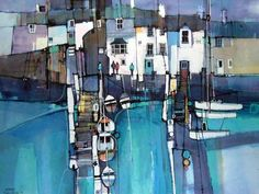 Dart Gallery - Contemporary British Art in Dartmouth, Devon and Online Abstract Art Painting, Art Painting, Fine Art, Abstract Painting, Painting, Art, Abstract, Contemporary Art, Landscape Art