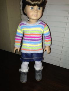 18 Inch American Girl Doll Clothes Urban Classic Outfit Ready to Ship