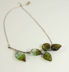 Recycled Glass and Sterling Silver Michelle Stewart