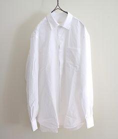 COMOLI コモリシャツ(WHITE) http://floraison.shop-pro.jp/?pid=73235963