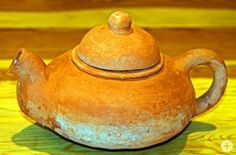 hauptsache keramik: Uschis erste Tonarbeit