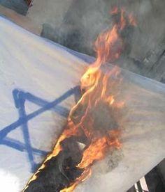 Antissemitas palestinos não respeitam nem o memorial das vítimas do atentado de Bruxelas.