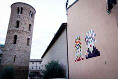 Street Art – Invader installe ses créations dans la capitale mondiale de la mosaïque (image)