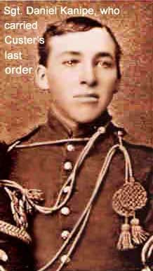 Sgt. Daniel Kanipe, who carried Gen. George A. Custer's last order