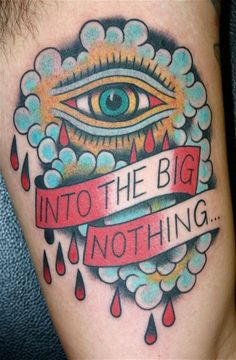 American Traditional Style Tattoo