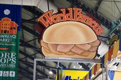 Toronto's World Famous Peameal Bacon Sandwich at the St. I Am Canadian, Canadian Food, Peameal Bacon, Bacon Sandwich, St Lawrence, Travel Abroad, Natural Wonders, Gta, Touring
