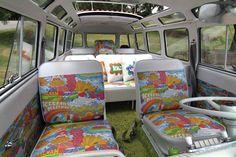 CUSTOM INTERIOR FOR VW BUS