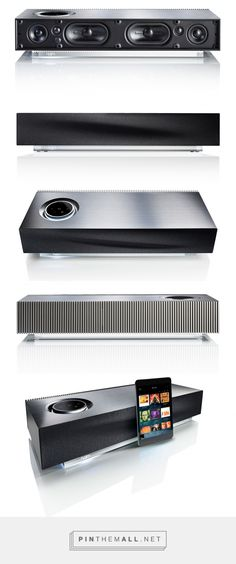Naim Mu-so: Six speakers, six amplifiers and 450 watts of power with advanced connectivity including Airplay, UPnPTM, Bluetooth, Internet Radio and Spotify Connect.