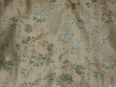 100% Pure Silk Brocade~Width 44 $19.00