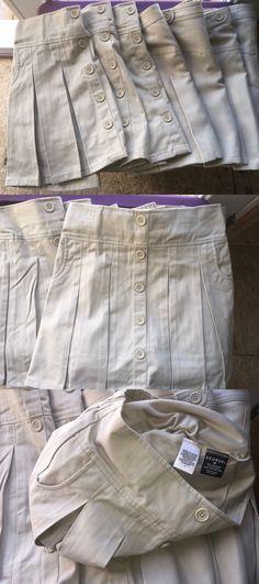 Uniforms 28017: 7 Pc George Girls Pleated Scooter Skort Skirt School Uniform Sz 12 Girls Nwot -> BUY IT NOW ONLY: $49.99 on eBay!