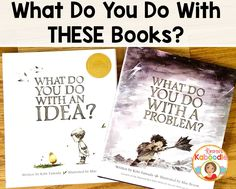 Are you looking for books to help support growth mindset? What Do You Do With a Problem and What Do You Do With an Idea? by Kobi Yamada are perfect to help students understand growth mindset!