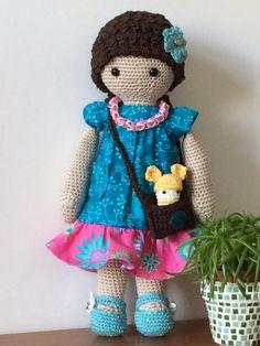 doll mod made by Kerstin J. / based on a lalylala crochet pattern
