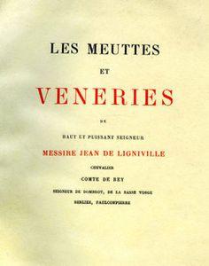 Ligniville. Les meuttes et véneries. 1892