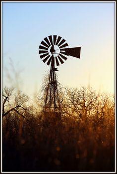 old windmills of Oklahoma