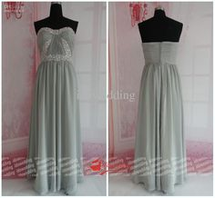 Wholesale Hot Sale Maria Celebrity Gowns Chiffon Sweetheart Crystal Pleat Floor Length Evening Gowns E-31, Free shipping, $123.2-135.52/Piece   DHgate