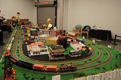 Train display at America on Wheels, Allentown Toy Trains, Model Trains, Lionel Trains Layout, Third Rail, N Scale Trains, Lehigh Valley, Train Layouts, Bethlehem, Ho Scale