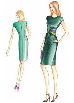 sewing pattern Dress 2936