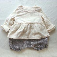 Lhotseより◇ 新商品です。 個人的に好きなこの2点(*^^*) 小さい女の子がいたら着せたい~~ パンツは男の子でも大丈夫ですね♪