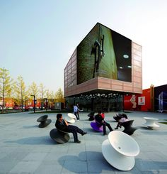 Vanke New City Center Sales Gallery in Nanjing, China / Spark Architects