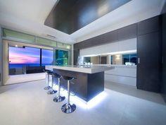 Kitchen Design Island galley kitchen in dark shades   efficiency with galley kitchen