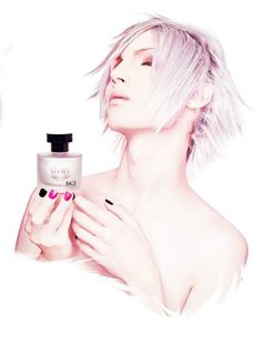 Yohio and his fragrance. I want a bottle of that. :)