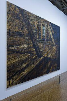 Anselm Kiefer, rétrospective au Centre Pompidou. 2016.
